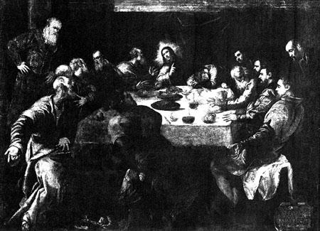 Le pain, le vin et le pardon Tintoret_Paris2